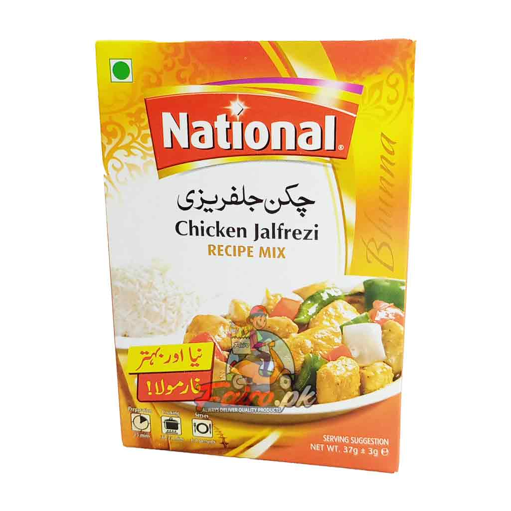 National Chicken Jalfrezi Recipe Mix 40g Fairo Pk