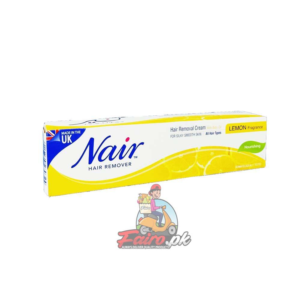 Nair Hair Remover Lemon Cream 110g Fairo Pk