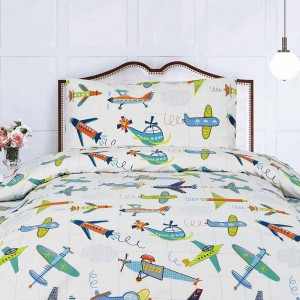airplane Kids bed sheets
