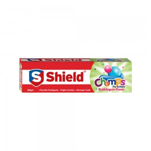 Shield Champs Bubblegum Flavor Toothpaste