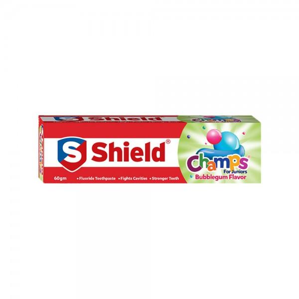 Shield Champs Bubblegum Flavor Toothpaste