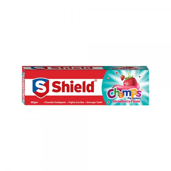 Shield Champs Strawberry Flavor Toothpaste