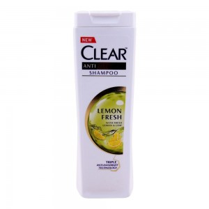 clear anti dandruff lemon fresh shampoo