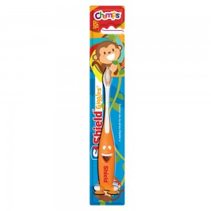 Shield giggle soft tooth brush