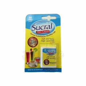 Sucral Sweetener Tablets – 50Tablets