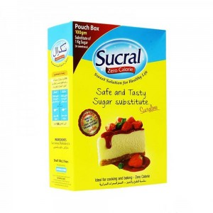 Sucral Sweeteners Sugar Pouch Box - 100g