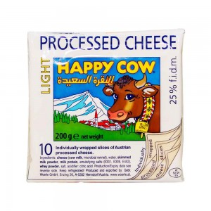 Happy Cow Low Fat Processed Cheese