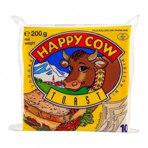 Happy Cow Toast Cheese