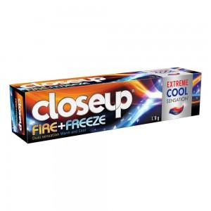 Closeup Fire Freeze Extreme Cool Sensation