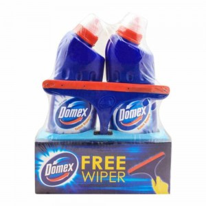 Domex Toilet Expert Original With Free Wiper Pack of 2