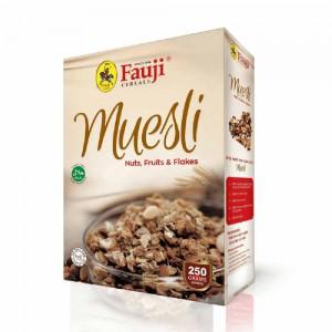 Fauji Muesli Nuts,Fruits and Flakes