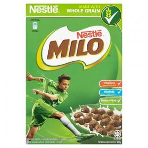 Nestle Milo Chocalate and malt wheat balls