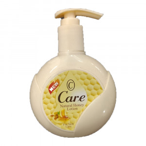 care natural honey lotion