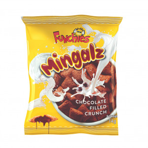 mingalz chocolate filled crunch